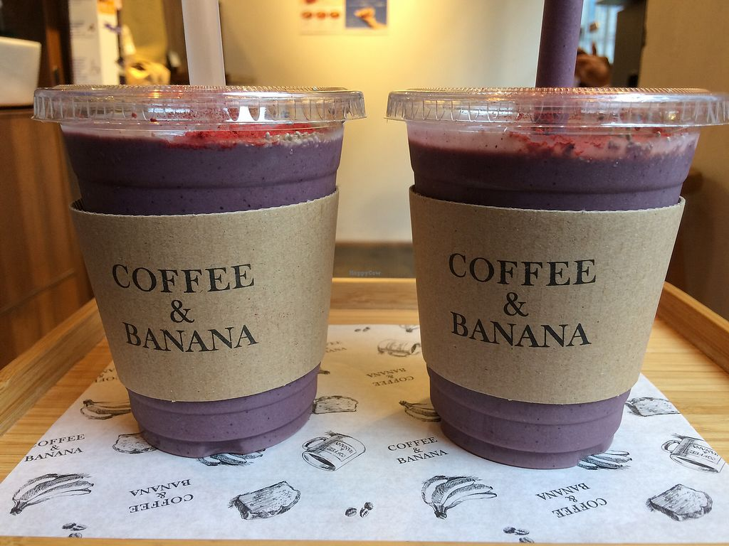 """Photo of Coffee & Banana  by <a href=""""/members/profile/AlbertHering"""">AlbertHering</a> <br/>Acai smoothie with lavender, yum! (Goji berry and chia seeds on top.) <br/> October 22, 2017  - <a href='/contact/abuse/image/96099/317562'>Report</a>"""