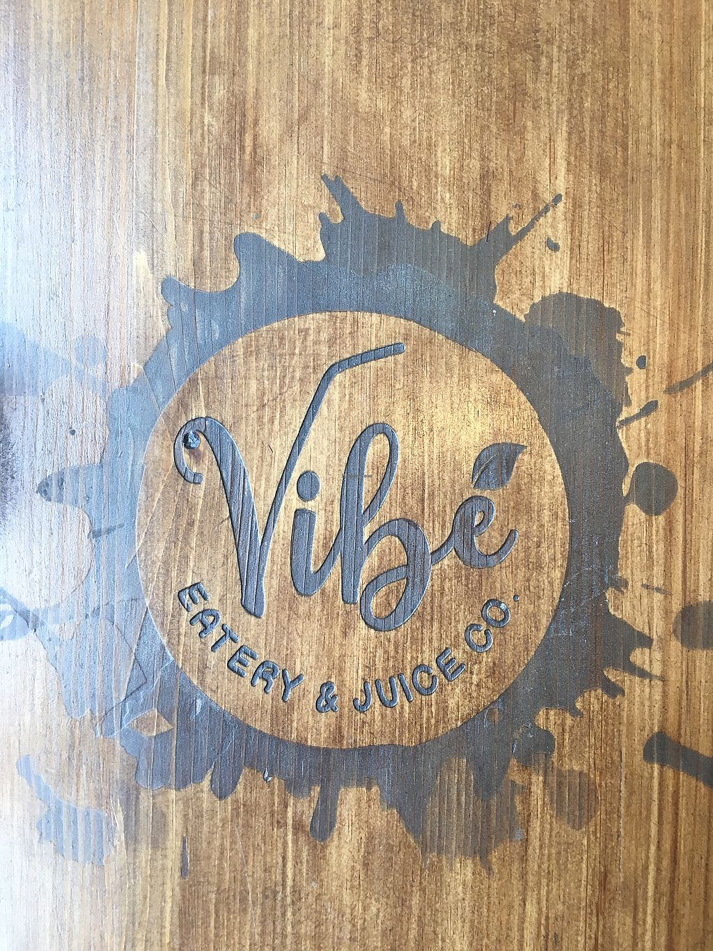 """Photo of Vibe Eatery & Juice  by <a href=""""/members/profile/ChristopherInfantry"""">ChristopherInfantry</a> <br/>the tables! <br/> July 13, 2017  - <a href='/contact/abuse/image/96101/279821'>Report</a>"""