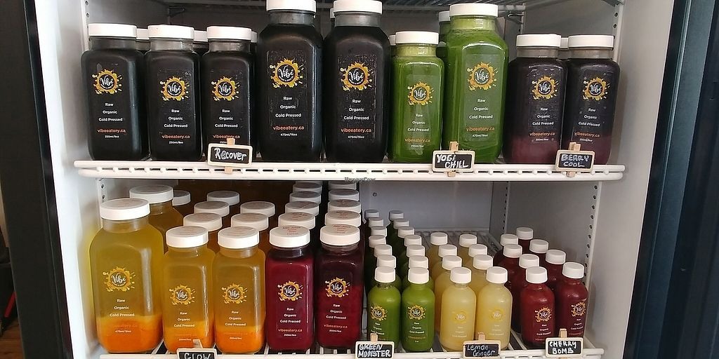 """Photo of Vibe Eatery & Juice  by <a href=""""/members/profile/LukeC"""">LukeC</a> <br/>refresh your body and mind with a fresh cold pressed juice  <br/> July 31, 2017  - <a href='/contact/abuse/image/96101/287365'>Report</a>"""
