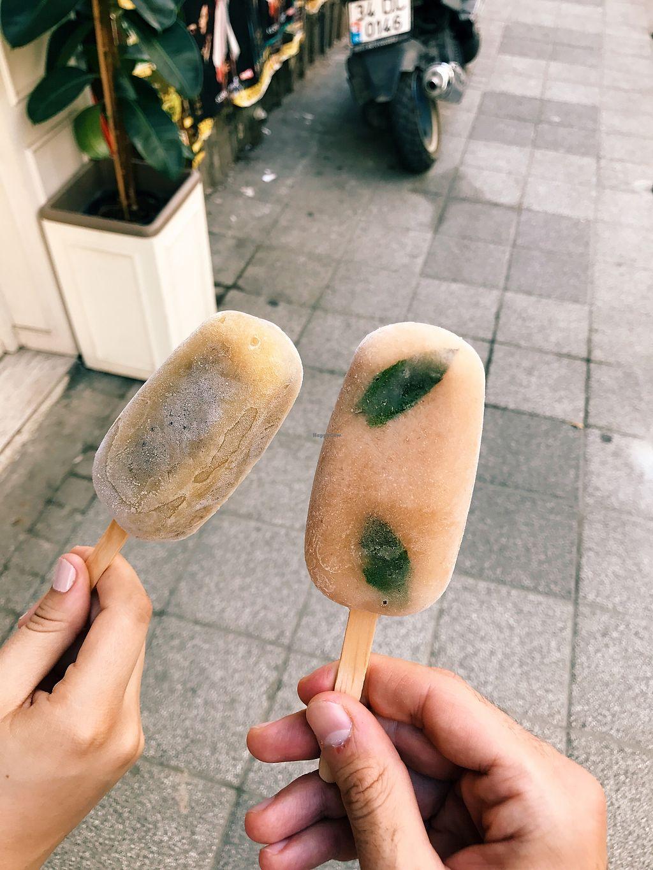 "Photo of Stuff Kadıkoy  by <a href=""/members/profile/veganoteacher"">veganoteacher</a> <br/>Vegan ice creams  <br/> July 13, 2017  - <a href='/contact/abuse/image/96123/279981'>Report</a>"
