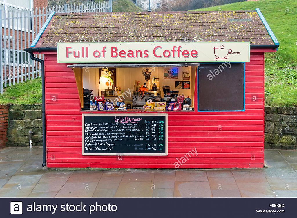 """Photo of Full of Beans Coffee  by <a href=""""/members/profile/EmJayNix"""">EmJayNix</a> <br/>Front <br/> July 13, 2017  - <a href='/contact/abuse/image/96132/280002'>Report</a>"""