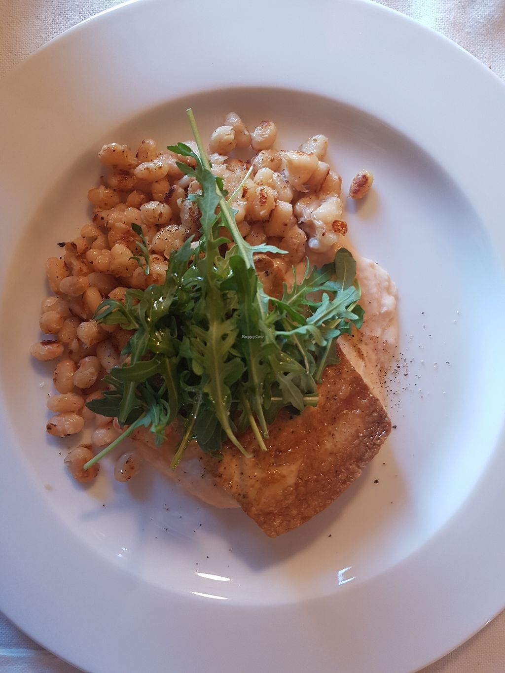 """Photo of Casa Albets  by <a href=""""/members/profile/estefinparis"""">estefinparis</a> <br/>Tofu and white beans  <br/> January 4, 2018  - <a href='/contact/abuse/image/96151/343063'>Report</a>"""