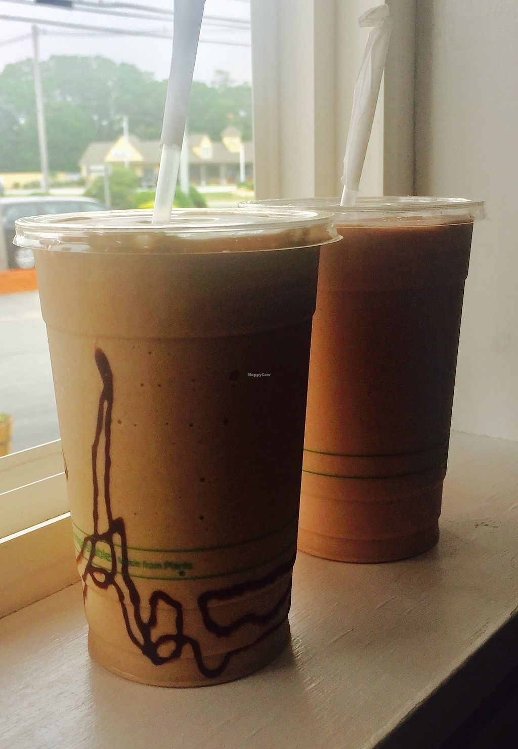 """Photo of Cycology Cafe  by <a href=""""/members/profile/Cycology"""">Cycology</a> <br/>Plant-based shakes and cups! <br/> July 13, 2017  - <a href='/contact/abuse/image/96155/280009'>Report</a>"""