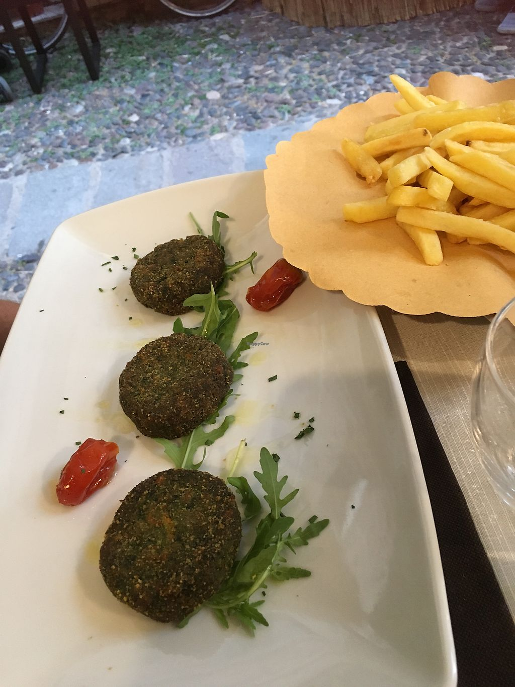 """Photo of Trattoria Di Mirko  by <a href=""""/members/profile/Linda%C3%85hl"""">LindaÅhl</a> <br/>vegan burgers <br/> July 13, 2017  - <a href='/contact/abuse/image/96163/279989'>Report</a>"""