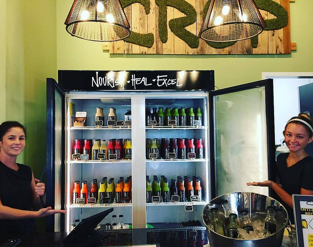"Photo of Crop Juice - Tourist Center Dr  by <a href=""/members/profile/CROPjuice"">CROPjuice</a> <br/>Come grab a nutrient dense cold pressed all organic juice! <br/> October 25, 2017  - <a href='/contact/abuse/image/96182/318846'>Report</a>"