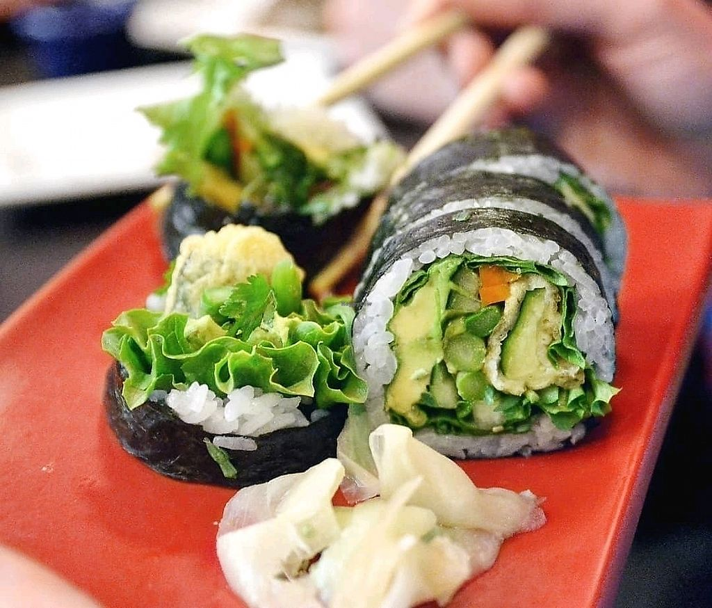 """Photo of Sushi 2  by <a href=""""/members/profile/KellyBone"""">KellyBone</a> <br/>Vegan Delight  <br/> January 28, 2018  - <a href='/contact/abuse/image/96188/351692'>Report</a>"""