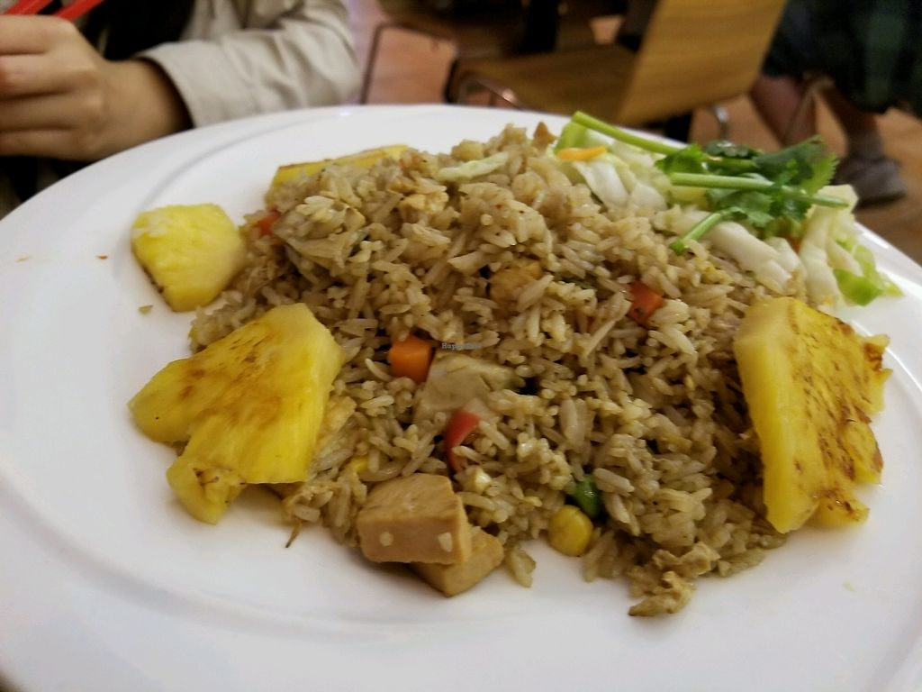 """Photo of Saigon Lotus  by <a href=""""/members/profile/kenvegan"""">kenvegan</a> <br/>veggie fried rice <br/> September 8, 2017  - <a href='/contact/abuse/image/96198/302095'>Report</a>"""