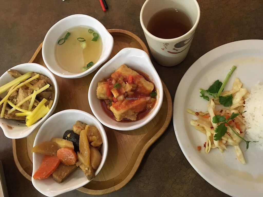 """Photo of Saigon Lotus  by <a href=""""/members/profile/Sharkademus"""">Sharkademus</a> <br/>Combo menu for C$11,- <br/> March 13, 2018  - <a href='/contact/abuse/image/96198/370037'>Report</a>"""