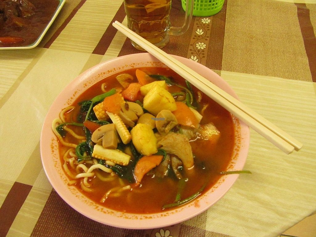 "Photo of Old Farmosa Vegetarian  by <a href=""/members/profile/u_are_brilliant"">u_are_brilliant</a> <br/>tom yum mee soup <br/> April 18, 2017  - <a href='/contact/abuse/image/9619/249717'>Report</a>"