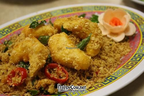 "Photo of Old Farmosa Vegetarian  by <a href=""/members/profile/1051100810"">1051100810</a> <br/>Oatmeal Prawn <br/> March 21, 2012  - <a href='/contact/abuse/image/9619/29742'>Report</a>"