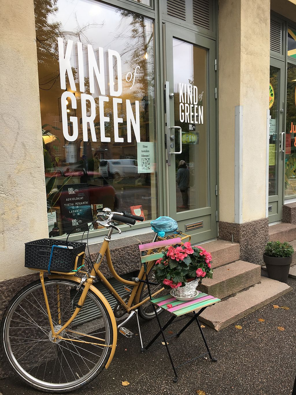 "Photo of Kind of Green  by <a href=""/members/profile/SeitanSeitanSeitan"">SeitanSeitanSeitan</a> <br/>Kind of green store front <br/> November 2, 2017  - <a href='/contact/abuse/image/96209/321145'>Report</a>"