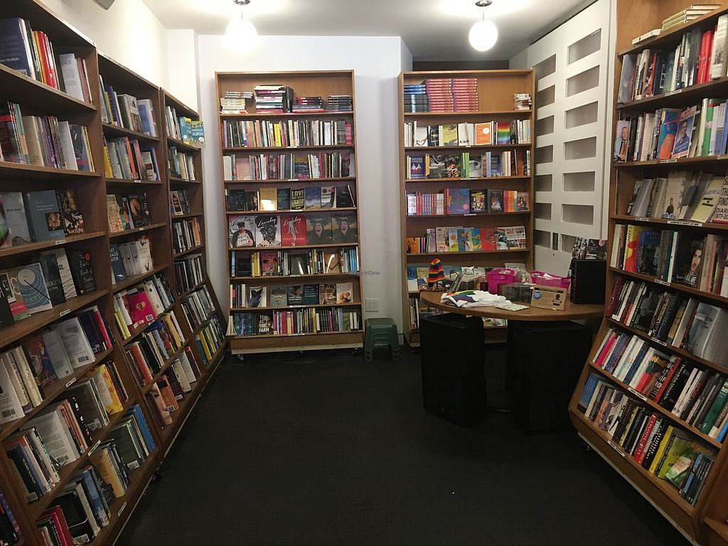 "Photo of Glad Day Bookshop  by <a href=""/members/profile/amwhite91"">amwhite91</a> <br/>the bookshop <br/> July 14, 2017  - <a href='/contact/abuse/image/96255/280343'>Report</a>"