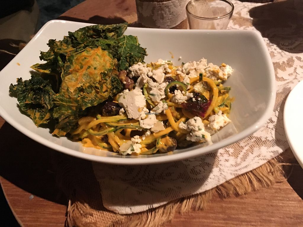 """Photo of Back 2 Earth B&B  by <a href=""""/members/profile/Mslanei"""">Mslanei</a> <br/>raw carbonara <br/> July 16, 2017  - <a href='/contact/abuse/image/96289/280951'>Report</a>"""