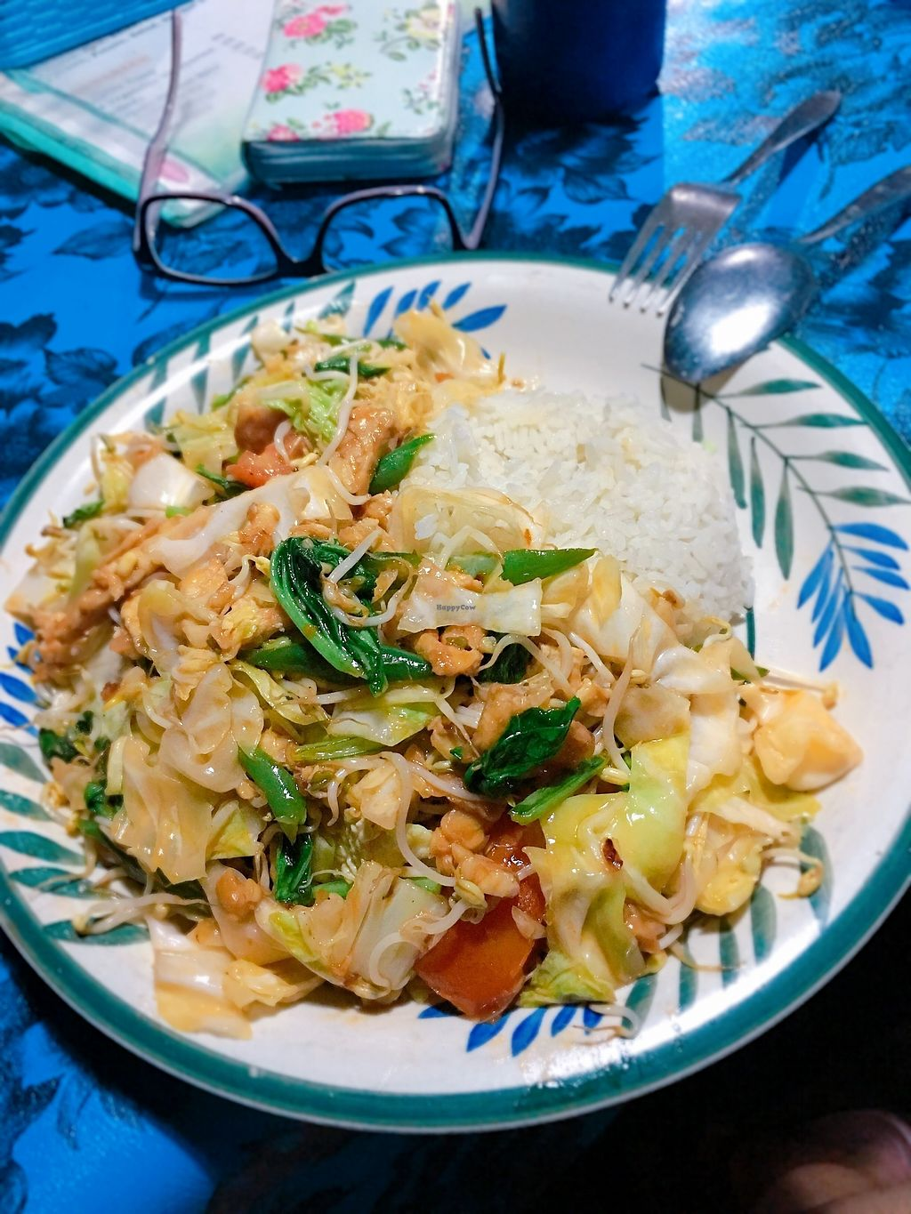 """Photo of Martini's Warung  by <a href=""""/members/profile/AnthonyPolicano"""">AnthonyPolicano</a> <br/>Fried veg w tofu & tempeh.. Huge & made with ❤️  <br/> July 21, 2017  - <a href='/contact/abuse/image/96302/282905'>Report</a>"""