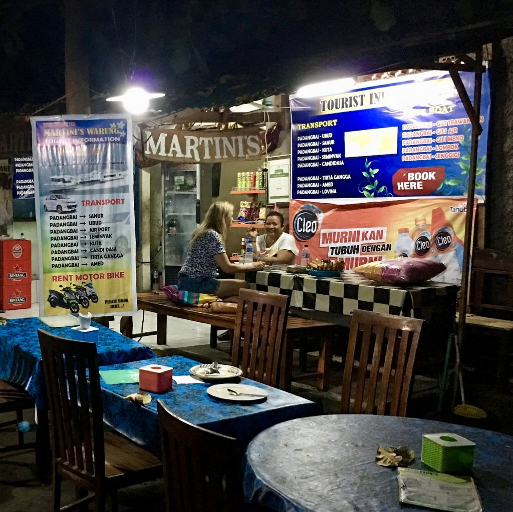 """Photo of Martini's Warung  by <a href=""""/members/profile/AnthonyPolicano"""">AnthonyPolicano</a> <br/>Facing into the public ? parking lot (convenient!) <br/> July 21, 2017  - <a href='/contact/abuse/image/96302/282906'>Report</a>"""