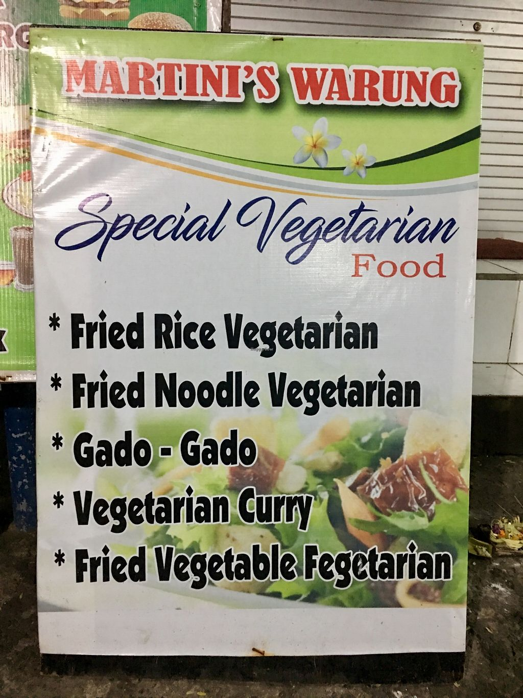 """Photo of Martini's Warung  by <a href=""""/members/profile/AnthonyPolicano"""">AnthonyPolicano</a> <br/>Don't let the spelling fool you.. Martini 'gets' Vegan right! <br/> July 21, 2017  - <a href='/contact/abuse/image/96302/282907'>Report</a>"""