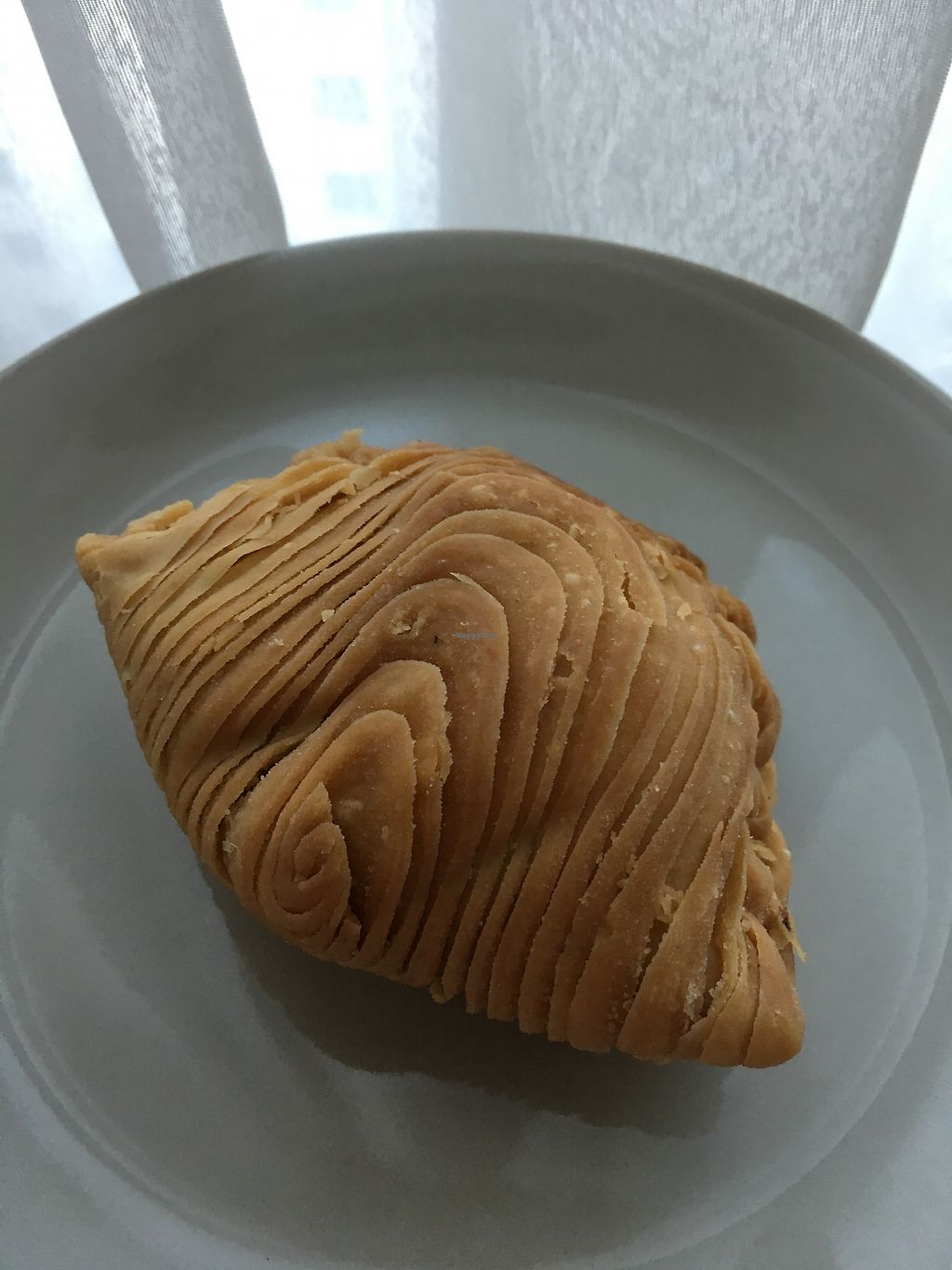 """Photo of Jovial Veggie House  by <a href=""""/members/profile/pauldub"""">pauldub</a> <br/>Very tasty vegan curry puff <br/> October 9, 2017  - <a href='/contact/abuse/image/9630/313621'>Report</a>"""