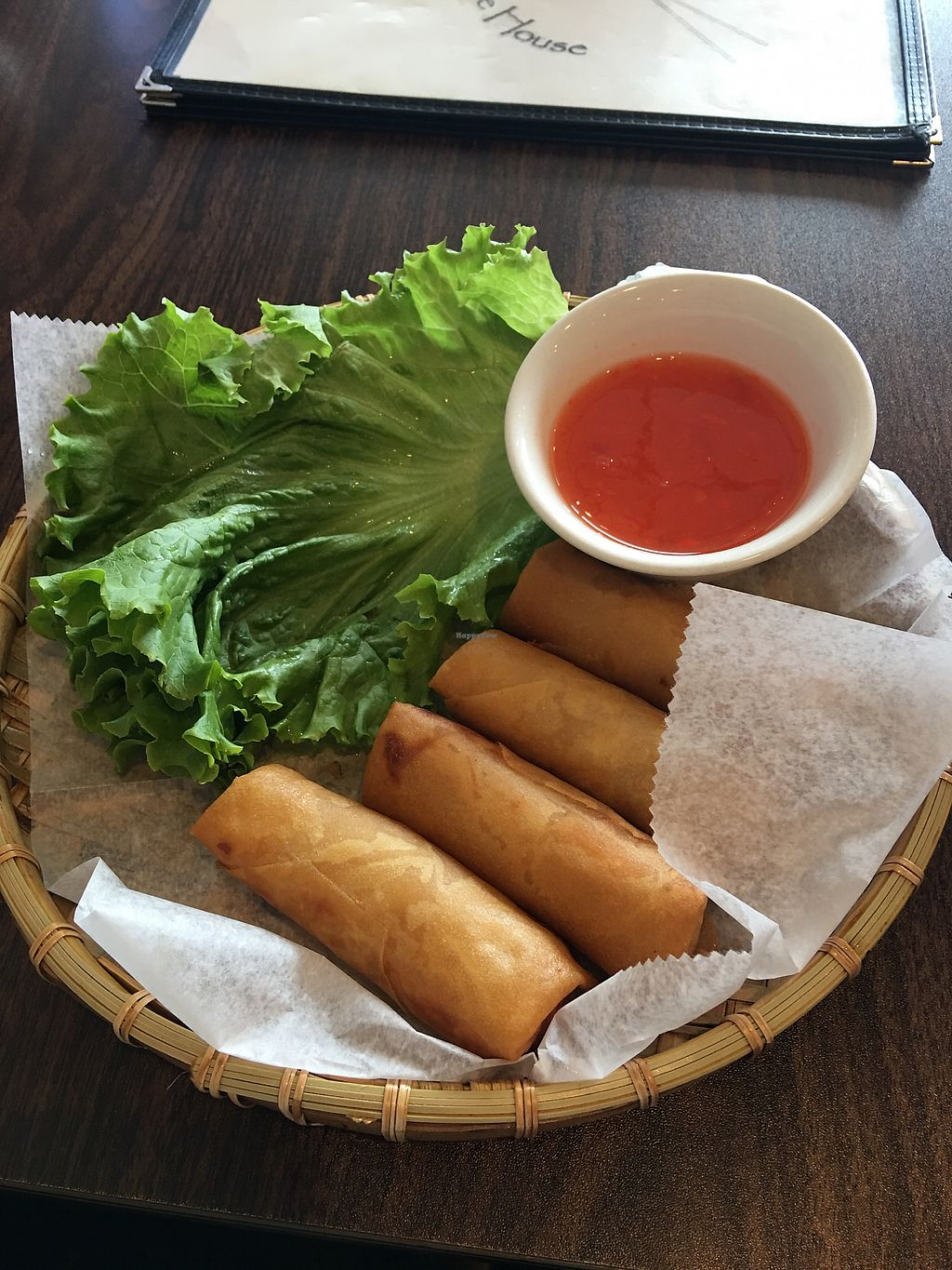 """Photo of Vietnamese Noodle House  by <a href=""""/members/profile/SuzieJoConstantin"""">SuzieJoConstantin</a> <br/>vegan spring rolls <br/> July 15, 2017  - <a href='/contact/abuse/image/96325/280731'>Report</a>"""