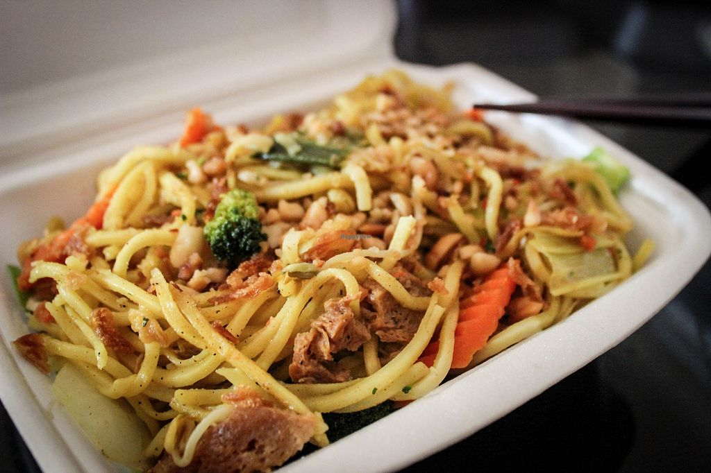 "Photo of Amitabha  by <a href=""/members/profile/SueClesh"">SueClesh</a> <br/>stir-fried wheat noodles with peanut sauce <br/> August 19, 2017  - <a href='/contact/abuse/image/96373/294297'>Report</a>"