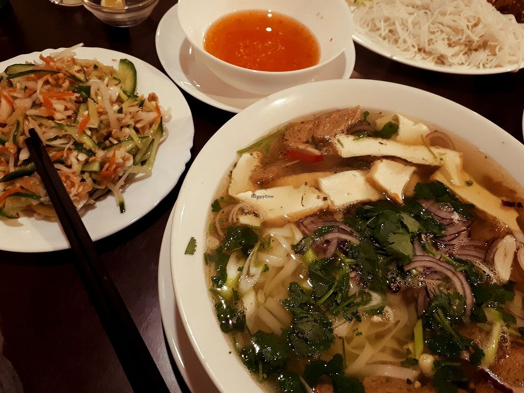 "Photo of Amitabha  by <a href=""/members/profile/laty"">laty</a> <br/>strong vegetable broth with rice noodles <br/> April 18, 2018  - <a href='/contact/abuse/image/96373/387589'>Report</a>"