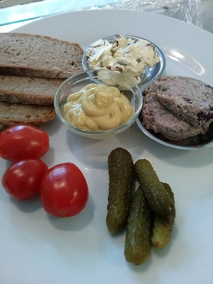 """Photo of Cafe Hahn  by <a href=""""/members/profile/community5"""">community5</a> <br/>Vegan 'regional dinner' <br/> July 20, 2017  - <a href='/contact/abuse/image/96377/282389'>Report</a>"""
