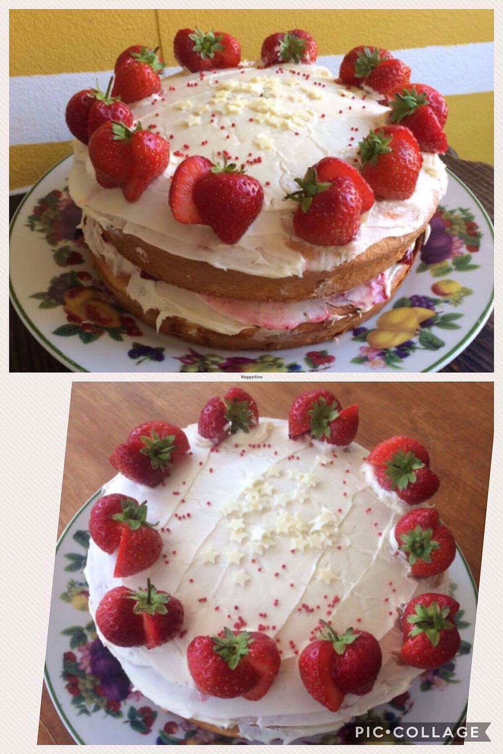 """Photo of T-Potters Cafe and Studio  by <a href=""""/members/profile/BryonyTpot"""">BryonyTpot</a> <br/>strawberry cake <br/> August 28, 2017  - <a href='/contact/abuse/image/96378/298434'>Report</a>"""