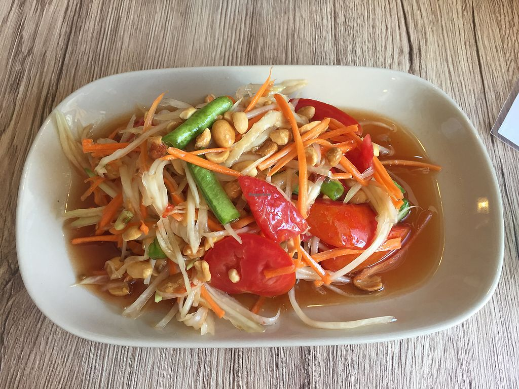 """Photo of Dow Vegetarian Restaurant  by <a href=""""/members/profile/AimeeLogan"""">AimeeLogan</a> <br/>Papaya salad <br/> September 20, 2017  - <a href='/contact/abuse/image/96395/306398'>Report</a>"""