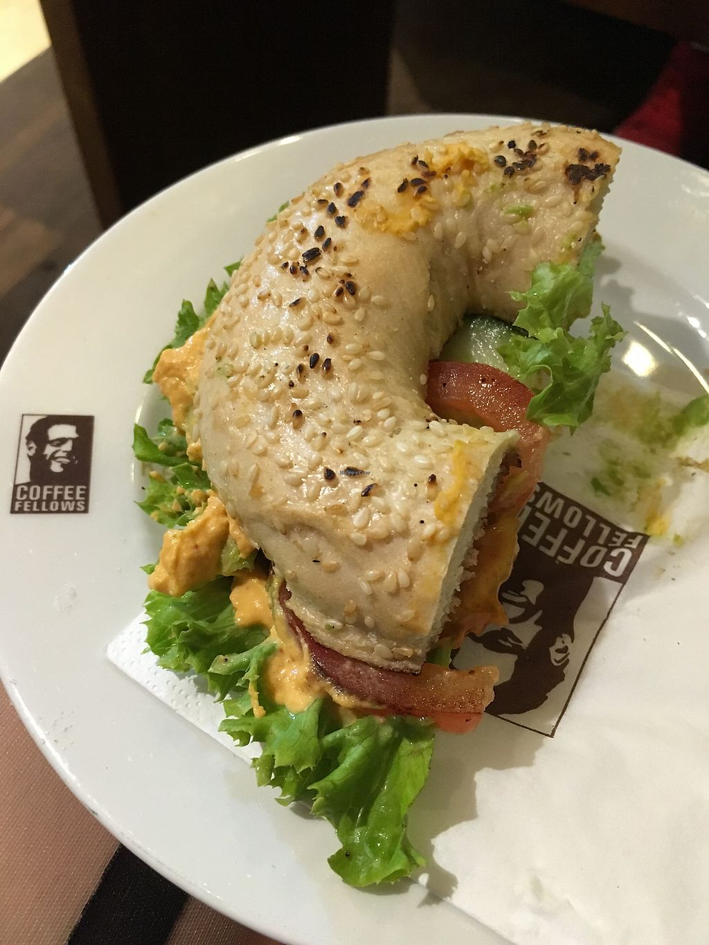 """Photo of Coffee Fellows  by <a href=""""/members/profile/Mici"""">Mici</a> <br/>Avocado Bagel ? <br/> August 22, 2017  - <a href='/contact/abuse/image/96397/295648'>Report</a>"""
