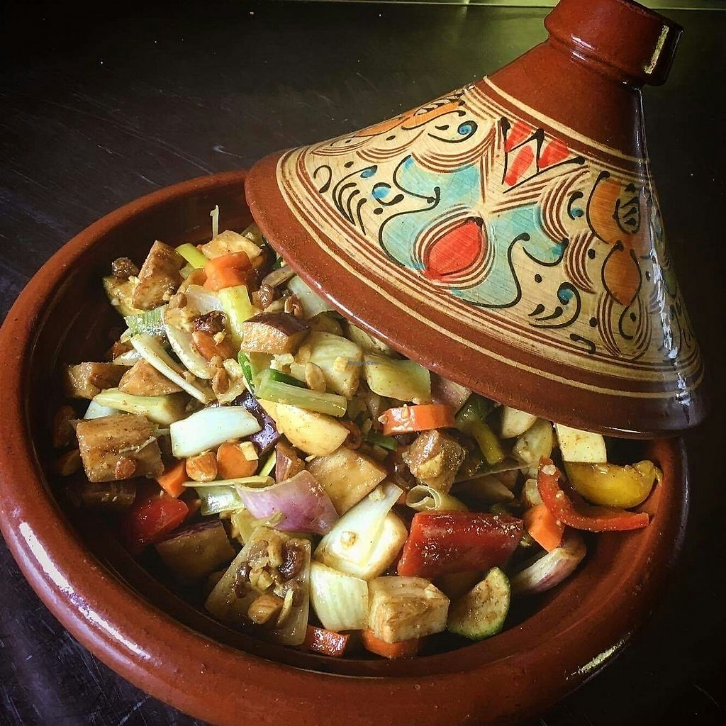 """Photo of Osteria Namaste  by <a href=""""/members/profile/Katherine2345"""">Katherine2345</a> <br/>garden vegetable tagine <br/> July 25, 2017  - <a href='/contact/abuse/image/96418/284667'>Report</a>"""