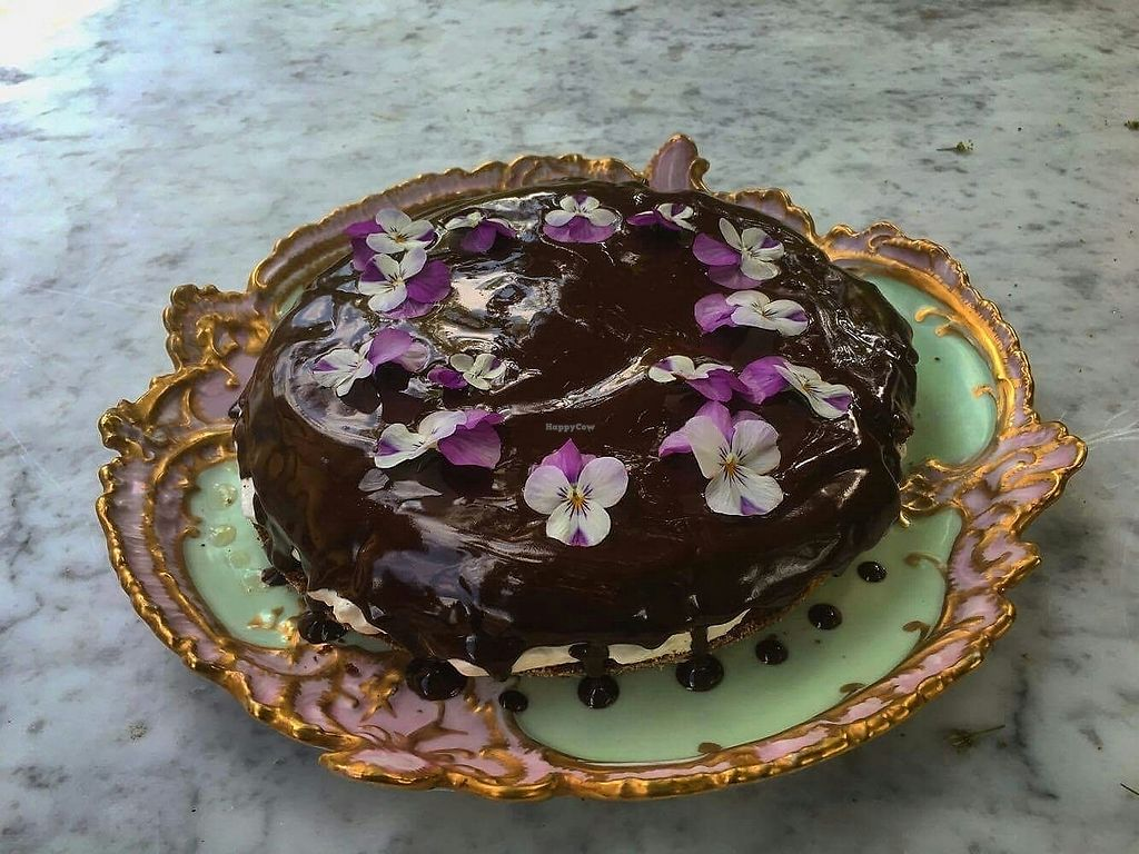 """Photo of Osteria Namaste  by <a href=""""/members/profile/Katherine2345"""">Katherine2345</a> <br/>chocolate hazelnut cake <br/> July 25, 2017  - <a href='/contact/abuse/image/96418/284673'>Report</a>"""