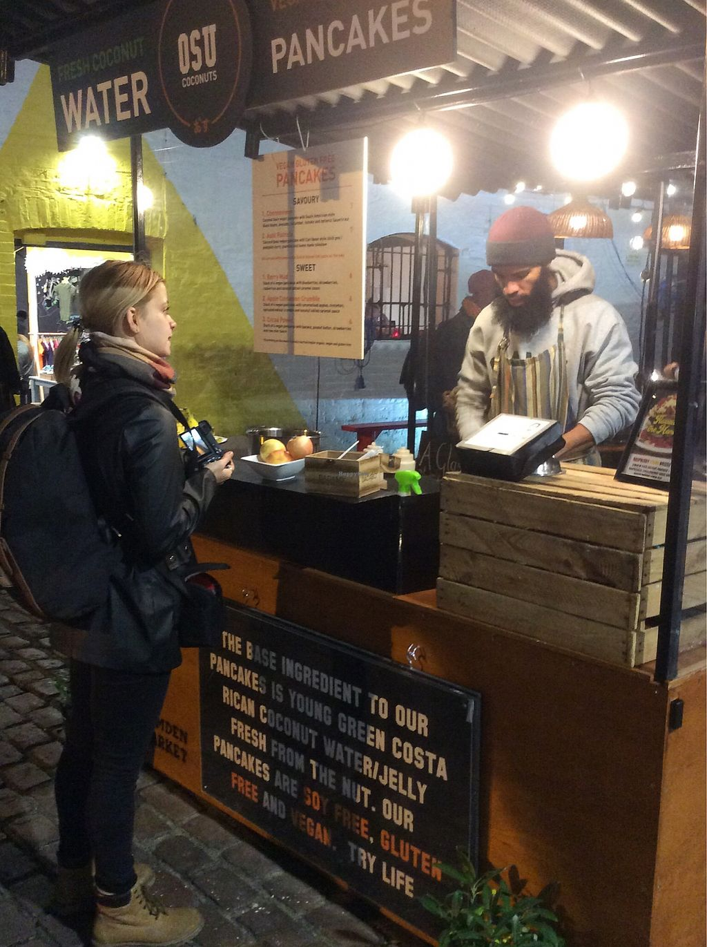 "Photo of OSU Coconuts Food Stall  by <a href=""/members/profile/jon%20active"">jon active</a> <br/>Pancaticipation! <br/> January 5, 2018  - <a href='/contact/abuse/image/96420/343338'>Report</a>"