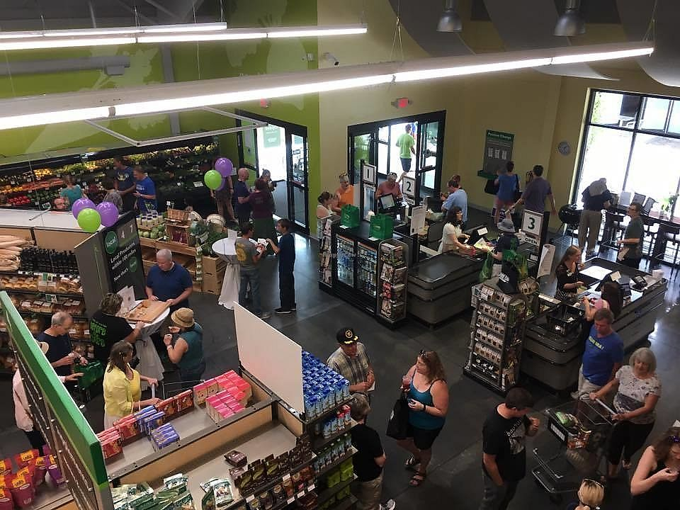 """Photo of Green Top Grocery  by <a href=""""/members/profile/greentopgrocery"""">greentopgrocery</a> <br/>Grand Opening fun :) <br/> July 17, 2017  - <a href='/contact/abuse/image/96421/281599'>Report</a>"""
