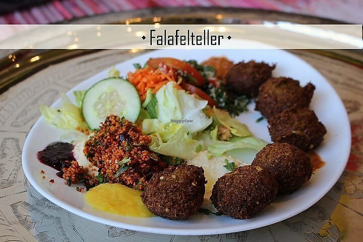 """Photo of Habibi  by <a href=""""/members/profile/community5"""">community5</a> <br/>Falafel plate <br/> July 20, 2017  - <a href='/contact/abuse/image/96424/282598'>Report</a>"""