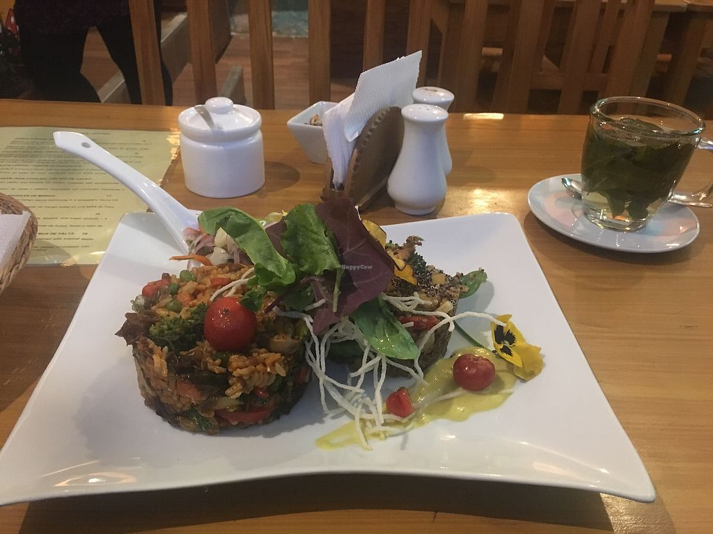 """Photo of Chia Vegan Kitchen  by <a href=""""/members/profile/gypsylass1"""">gypsylass1</a> <br/>Amazing meal combining two half portions to sample. Delicious, great service and beautifully presented  <br/> November 4, 2017  - <a href='/contact/abuse/image/96436/321828'>Report</a>"""