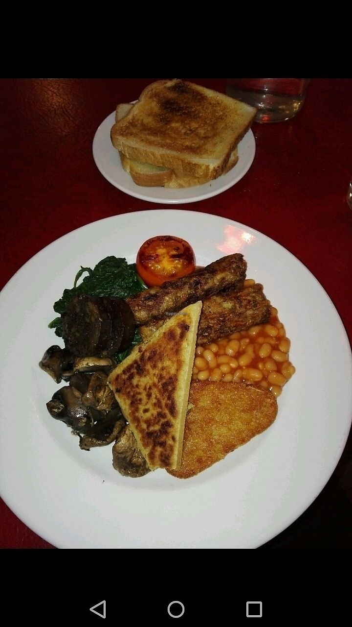 """Photo of The Koffee Pot  by <a href=""""/members/profile/piffelina"""">piffelina</a> <br/>Vegan breakfast plate <br/> December 30, 2017  - <a href='/contact/abuse/image/96462/340672'>Report</a>"""
