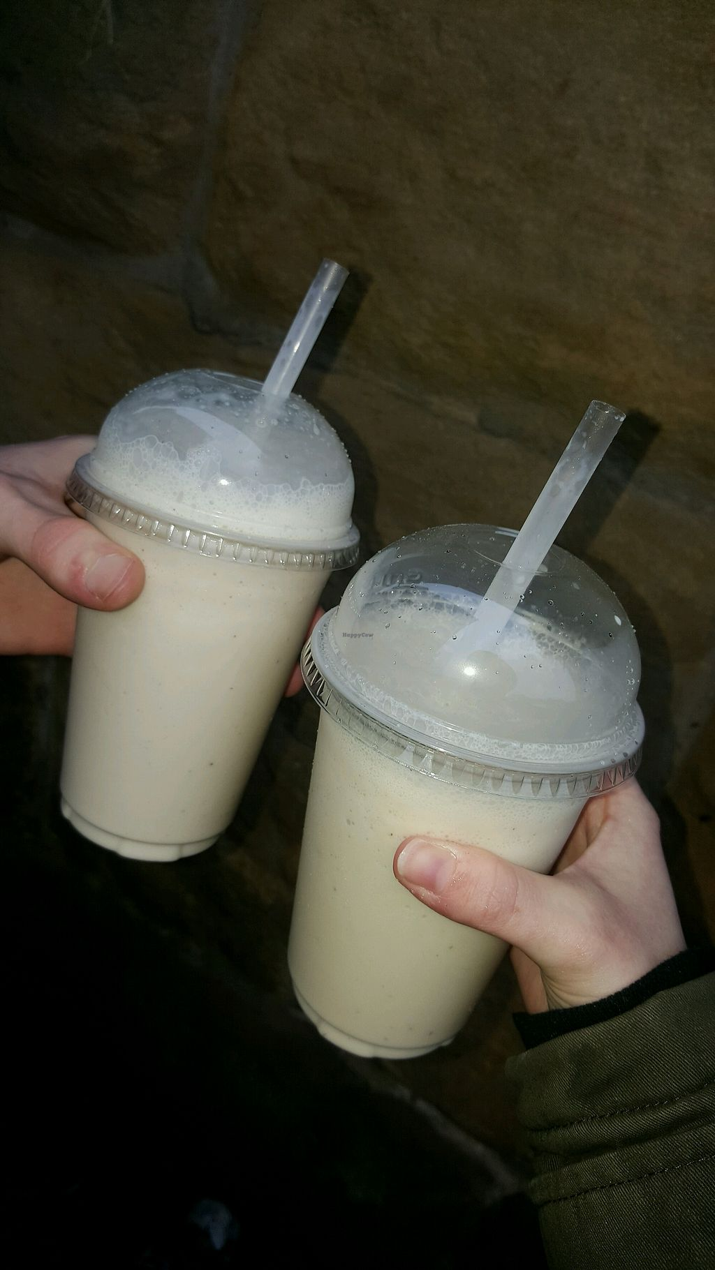 """Photo of The Origami Cafe & Gift Shop  by <a href=""""/members/profile/HannahCharlotte"""">HannahCharlotte</a> <br/>The Raspberry Rose and White Chocolate vegan milkshakes <br/> April 10, 2018  - <a href='/contact/abuse/image/96471/383245'>Report</a>"""