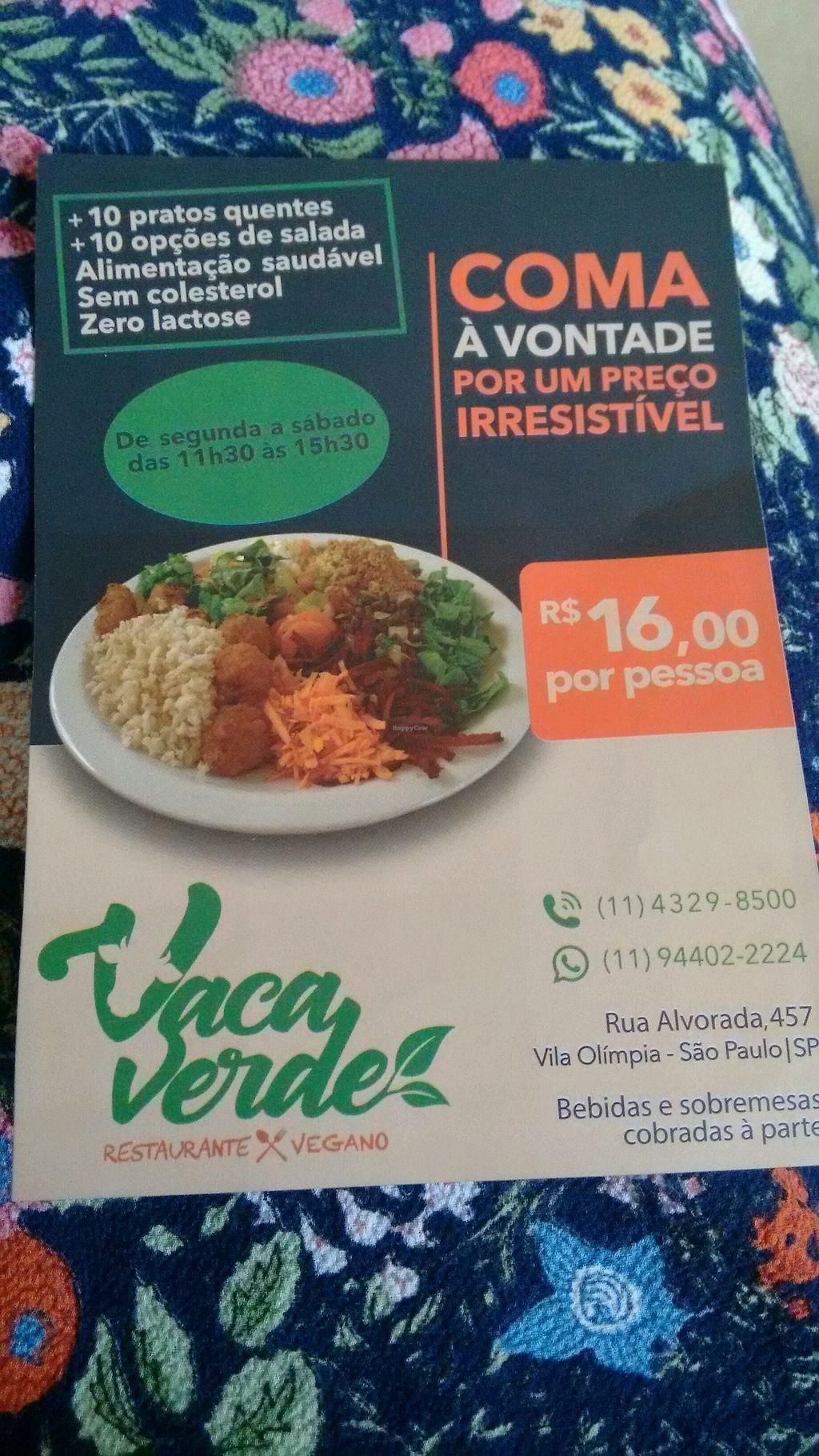 "Photo of Vaca Verde  by <a href=""/members/profile/tmorinaga"">tmorinaga</a> <br/>panfleto <br/> September 18, 2017  - <a href='/contact/abuse/image/96508/305792'>Report</a>"
