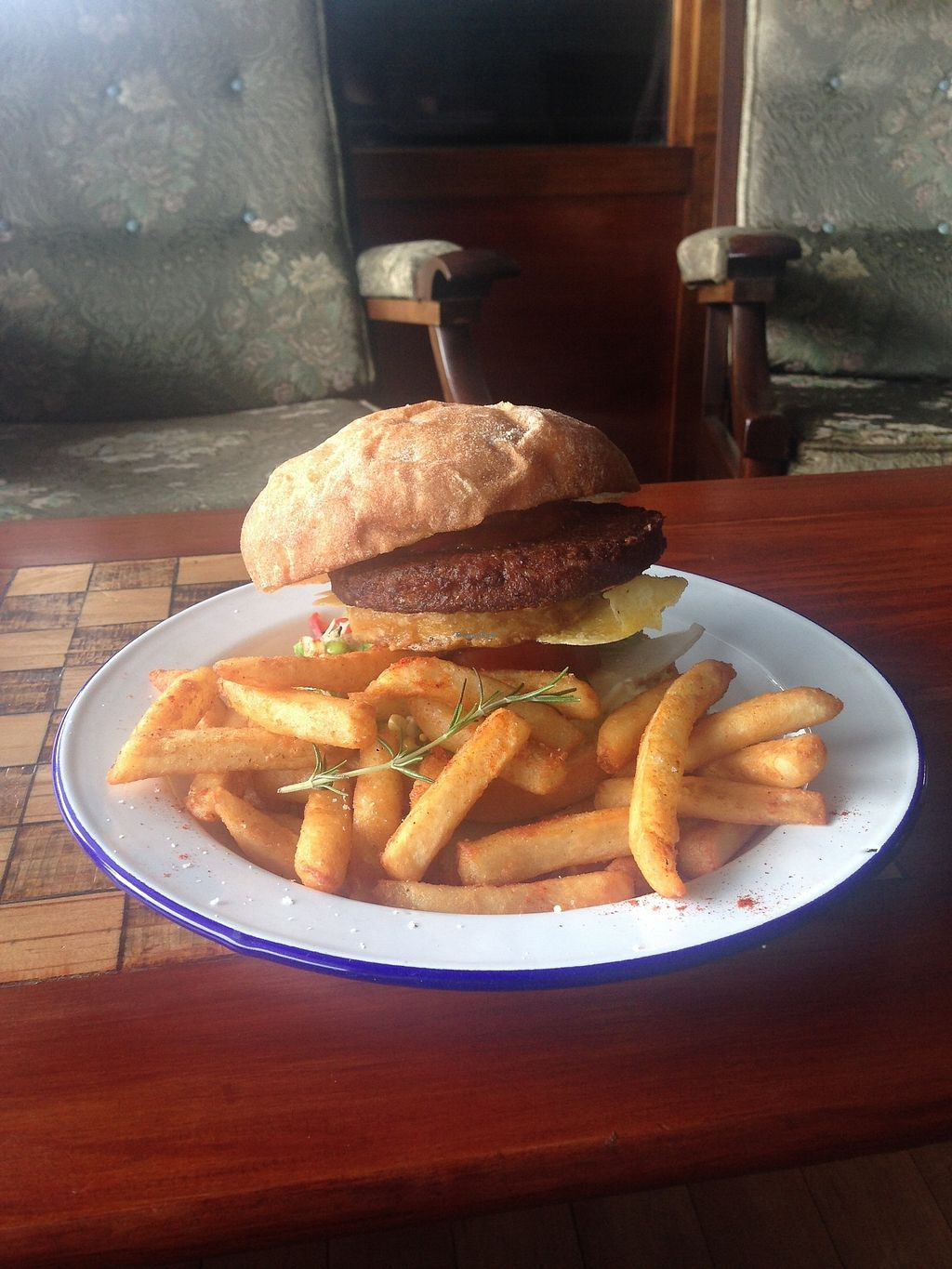 "Photo of Portershed  by <a href=""/members/profile/BrieDunstan"">BrieDunstan</a> <br/>Delicious burger from specials board <br/> February 13, 2018  - <a href='/contact/abuse/image/96516/358702'>Report</a>"
