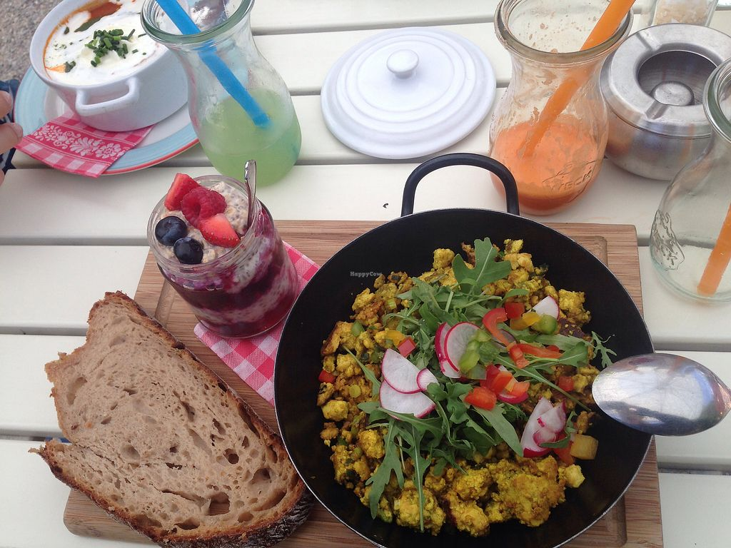 """Photo of Landtmann's Jausen Station  by <a href=""""/members/profile/EIIie"""">EIIie</a> <br/>Vegan Breakfast  <br/> July 23, 2017  - <a href='/contact/abuse/image/96521/283668'>Report</a>"""