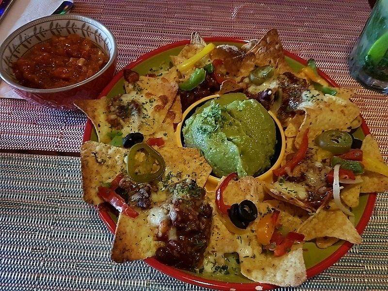 """Photo of Noorderhuis  by <a href=""""/members/profile/TrudiBruges"""">TrudiBruges</a> <br/>shared starter, Nacho de luxe wit extra guac <br/> January 2, 2018  - <a href='/contact/abuse/image/96531/341978'>Report</a>"""