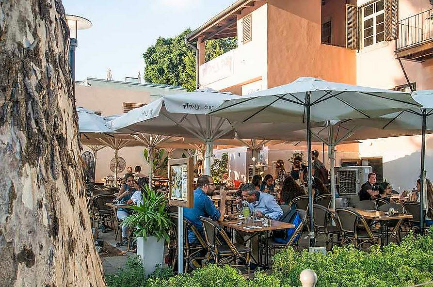 """Photo of Nimrod Cafe - Sarona  by <a href=""""/members/profile/Brok%20O.%20Lee"""">Brok O. Lee</a> <br/>outside <br/> July 19, 2017  - <a href='/contact/abuse/image/96545/282039'>Report</a>"""