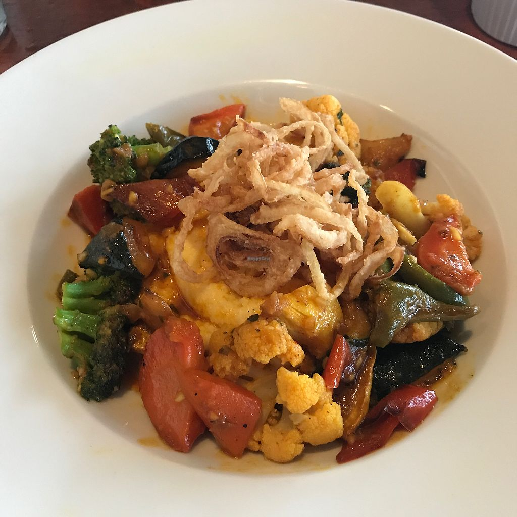 "Photo of Newagen Seaside Inn  by <a href=""/members/profile/Sarah%20P"">Sarah P</a> <br/>coconut curried vegetable entree over polenta <br/> July 18, 2017  - <a href='/contact/abuse/image/96563/281944'>Report</a>"