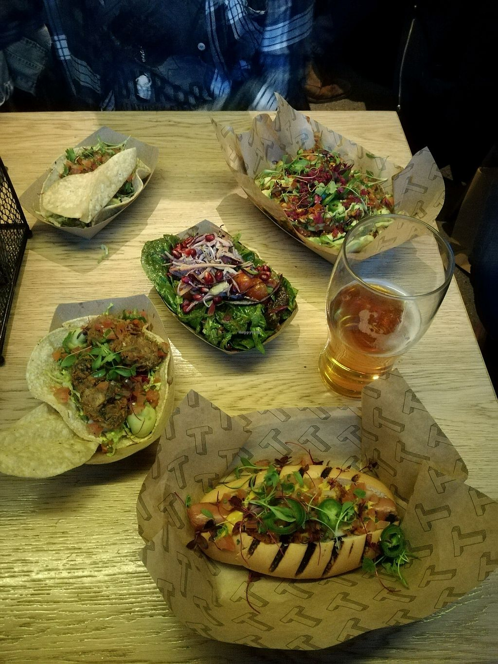 """Photo of Token  by <a href=""""/members/profile/IirisAura"""">IirisAura</a> <br/>hotdog, salad, chilli fries, tacos <br/> April 6, 2018  - <a href='/contact/abuse/image/96579/381644'>Report</a>"""