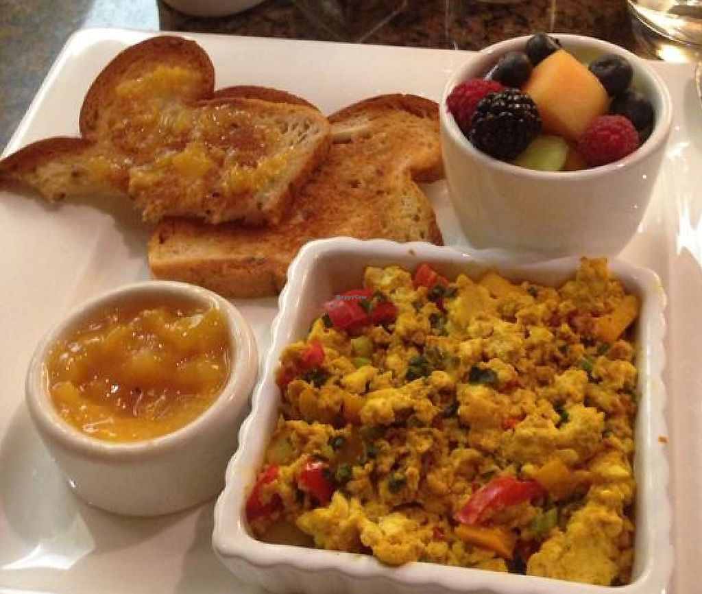 """Photo of REMOVED: Venetian Hotel - Canyon Ranch Cafe  by <a href=""""/members/profile/AshleyLorden"""">AshleyLorden</a> <br/>tofu scramble breakfast <br/> April 27, 2014  - <a href='/contact/abuse/image/9658/207741'>Report</a>"""