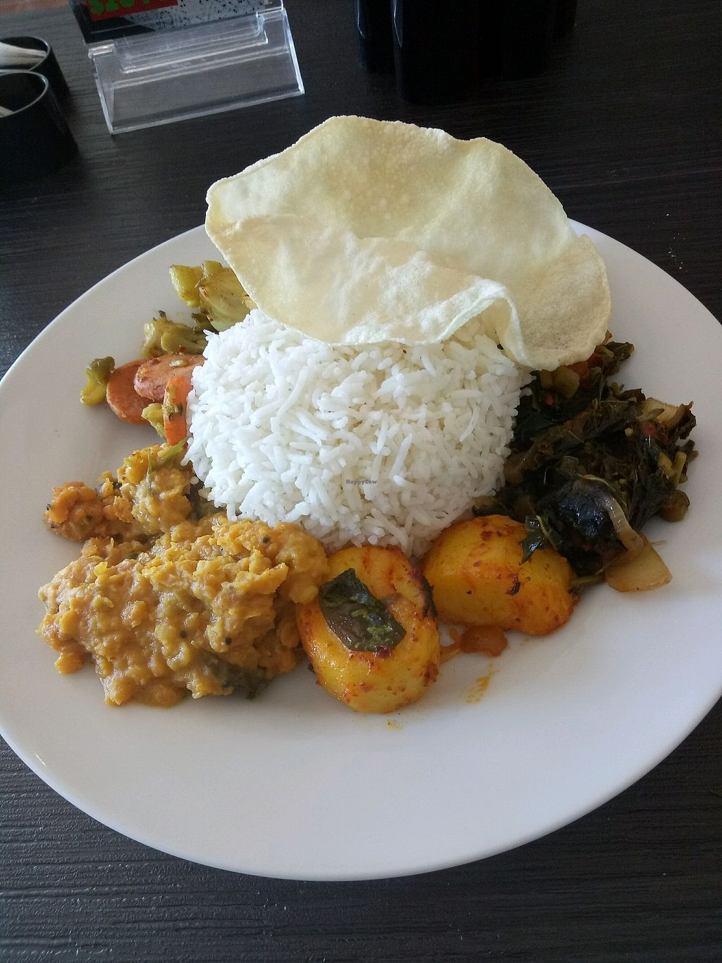 "Photo of Cafe Dinicious  by <a href=""/members/profile/Rebeccapotato"">Rebeccapotato</a> <br/>vegetarian curry option  <br/> January 23, 2018  - <a href='/contact/abuse/image/96603/350030'>Report</a>"
