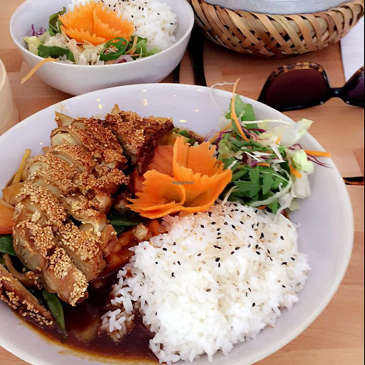"""Photo of +84 Asian Restaurant  by <a href=""""/members/profile/IssySmith"""">IssySmith</a> <br/>Ginger duck <br/> August 1, 2017  - <a href='/contact/abuse/image/96619/287592'>Report</a>"""