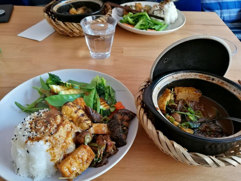 """Photo of +84 Asian Restaurant  by <a href=""""/members/profile/SallaMoberg"""">SallaMoberg</a> <br/>rice with tofu and seitan  <br/> March 25, 2018  - <a href='/contact/abuse/image/96619/375847'>Report</a>"""