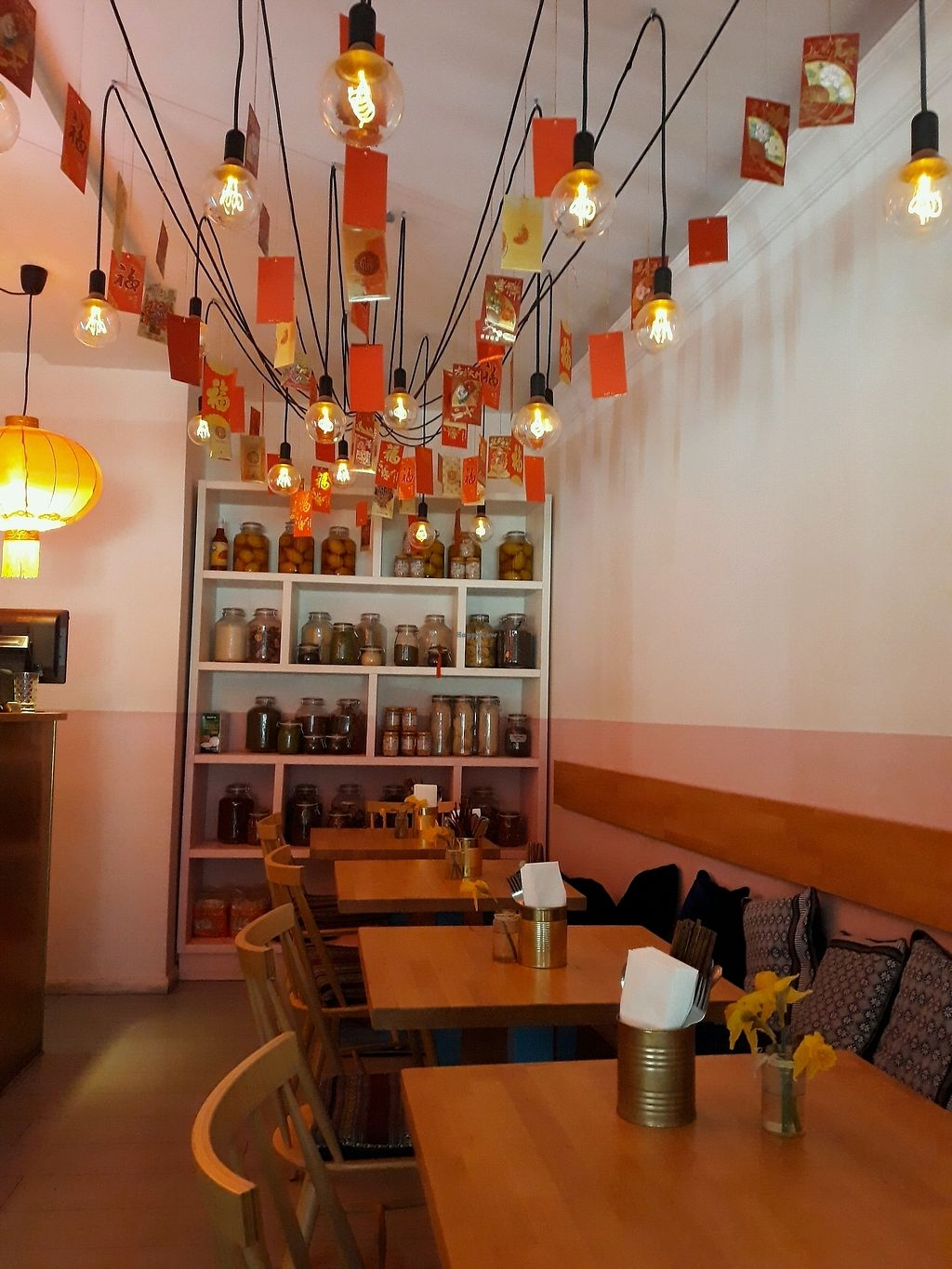 """Photo of +84 Asian Restaurant  by <a href=""""/members/profile/HannaStra%C3%9Fburger"""">HannaStraßburger</a> <br/>Cozy place <br/> April 8, 2018  - <a href='/contact/abuse/image/96619/382294'>Report</a>"""