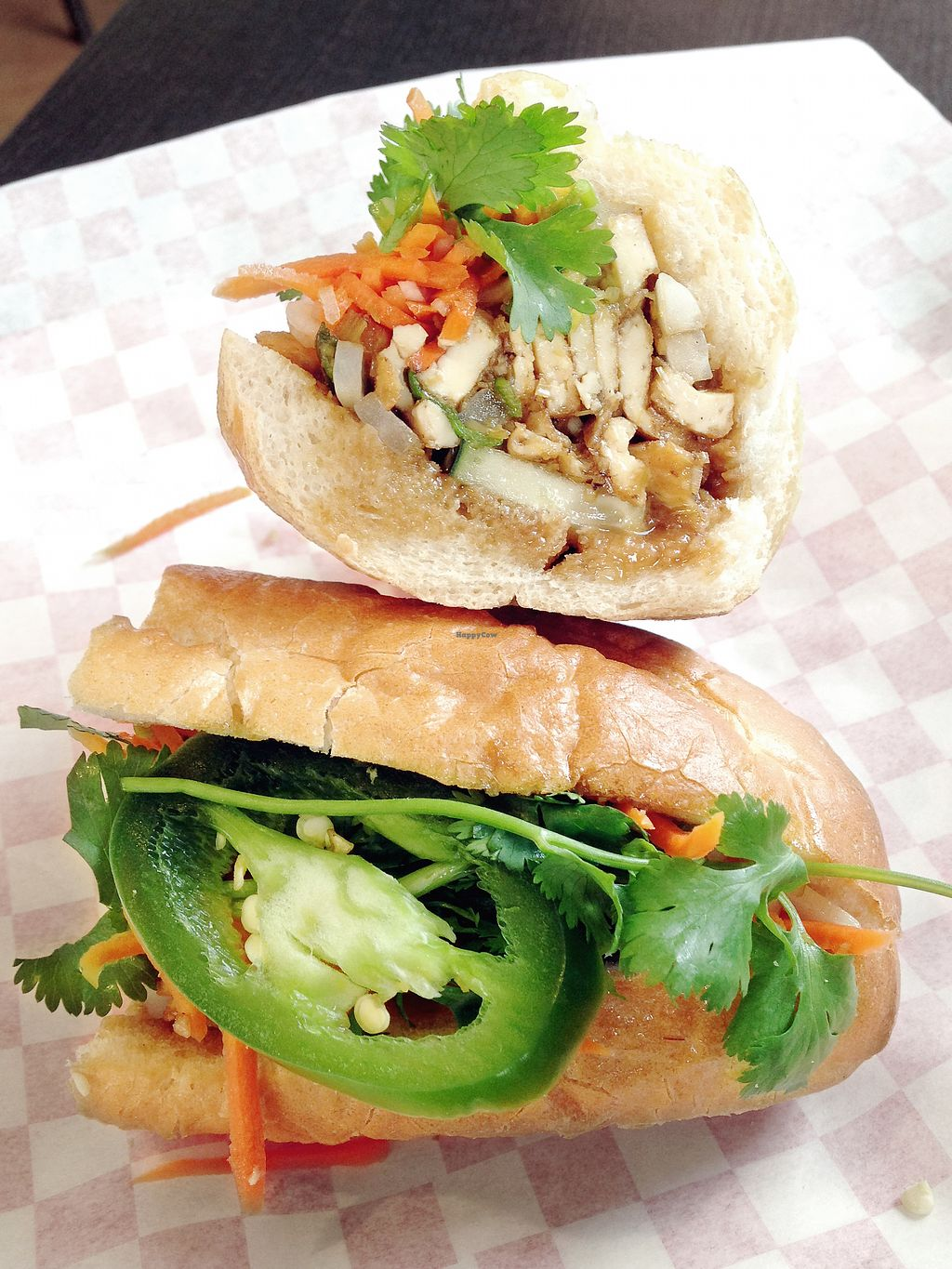 """Photo of Pho Hut & Grill  by <a href=""""/members/profile/KellyBone"""">KellyBone</a> <br/>Banh Mi <br/> July 23, 2017  - <a href='/contact/abuse/image/96632/283469'>Report</a>"""