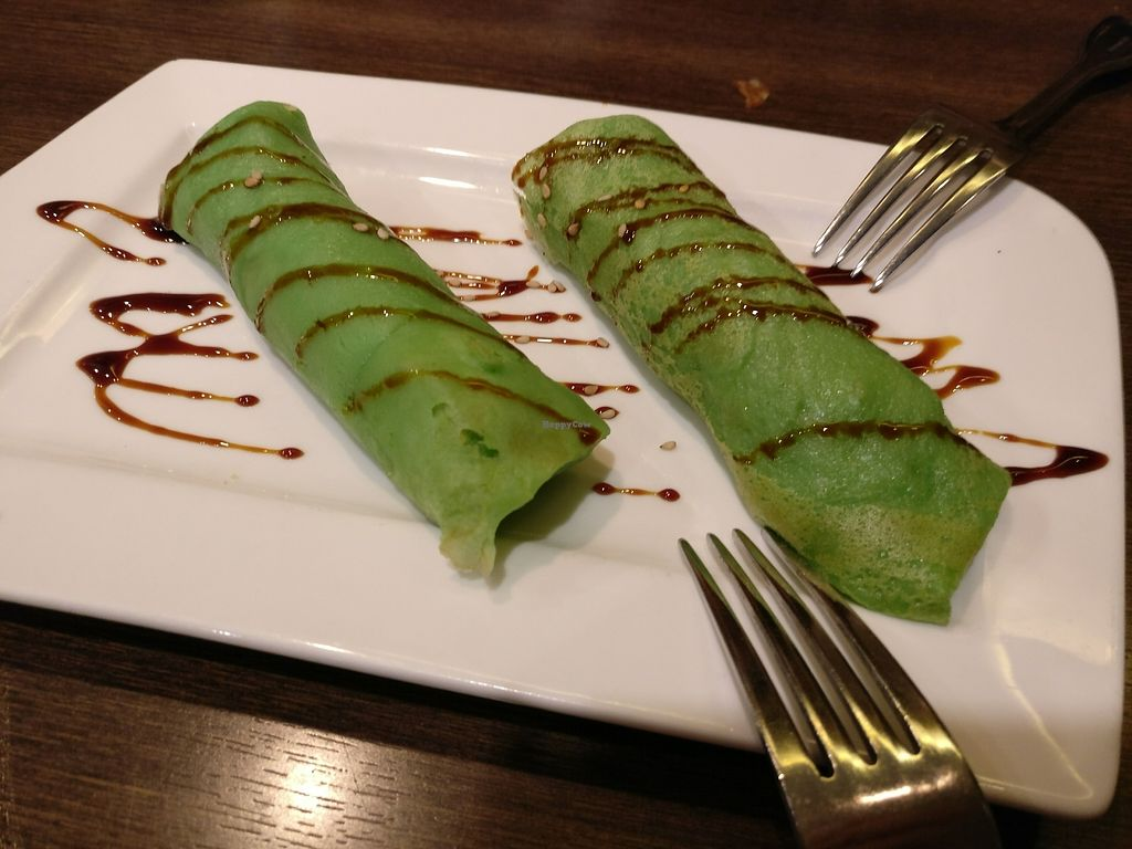 """Photo of Restoran Malaysia  by <a href=""""/members/profile/cdnvegan"""">cdnvegan</a> <br/>coconut crêpes <br/> July 20, 2017  - <a href='/contact/abuse/image/96640/282343'>Report</a>"""